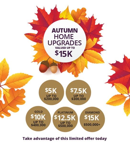 Swanbuild Autumn Home Upgrade Offer